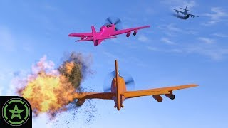 GET OUT OF MY CREV - GTA V: Air Quota | Let's Play
