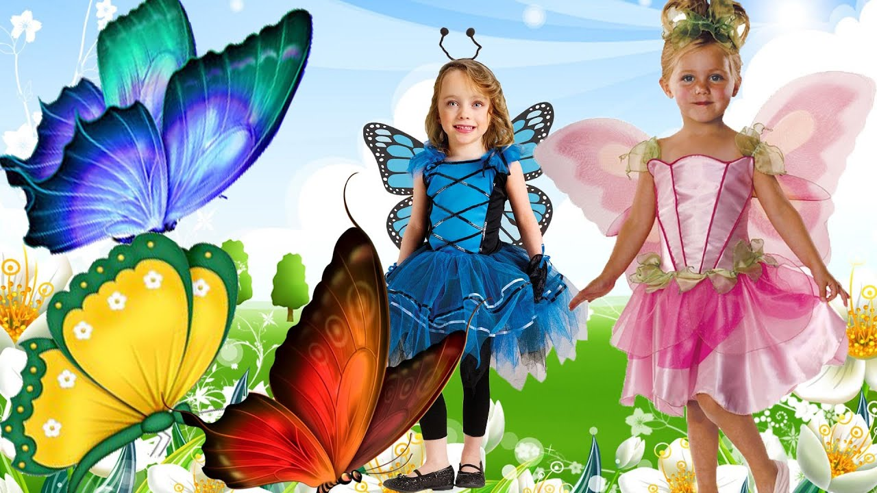 finger family rhyme butterfly version cartoon rhymes for kids