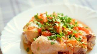 Чахохбили из курицы. Рецепты из курицы / Chakhokhbili