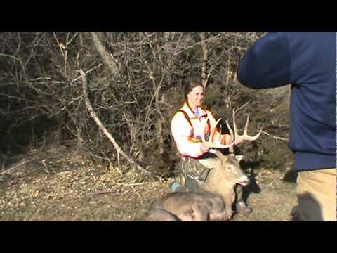 af360c3d27e3 deer hunting is for girls - YouTube