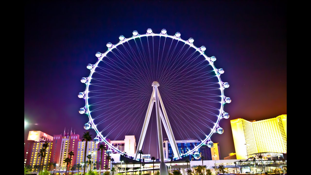 High Roller Ferris Wheel Las Vegas Tourist Attraction
