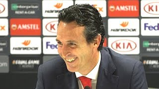 Unai Emery Pre-Match Press Conference - Arsenal v Everton - Embargo Extras