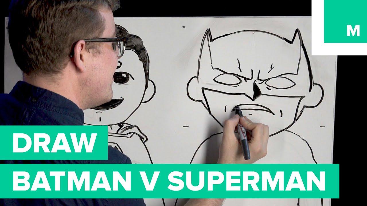 How To Draw Batman V Superman Emoji Your Submissions Bob Draws