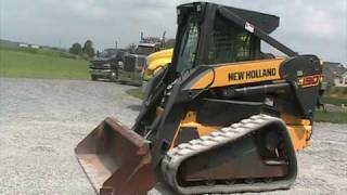 New Holland C190 Track Steer Loader