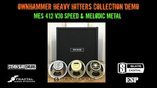 ownhammer heavy hitters collection mes 412 v30 metal demo axe fx esp eclipse ltd kh602 ssd4