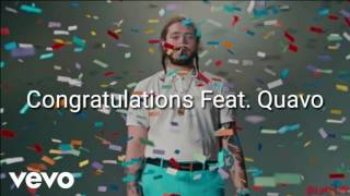Скачать Congratulations Post Malone Feat Quavo Lyrics