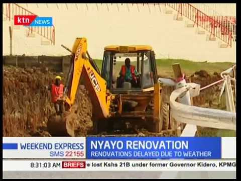 PS Peter Kaberia has said that renovations at Nyayo Stadium are ongoing after report of unpaid dues