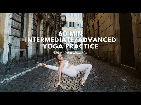 60-Min Intermediate/Advanced Yoga Class with Nicole Wild