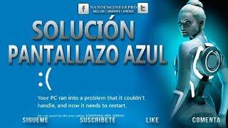 Solución al pantallazo azul | error al iniciar Windows 7/8/8.1/10 | Muy Fácil