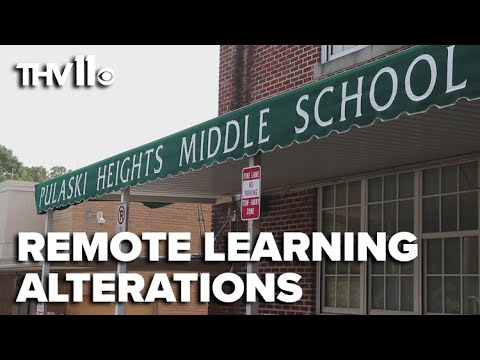 Pulaski Heights Middle School alters remote learning