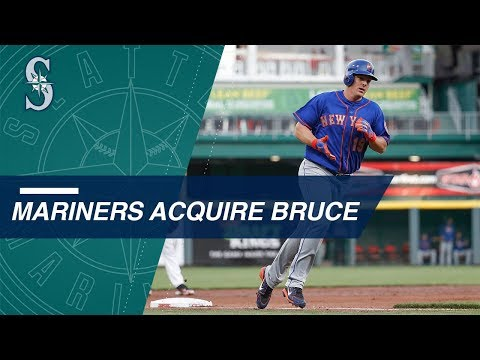Jay Bruce traded to the Mariners