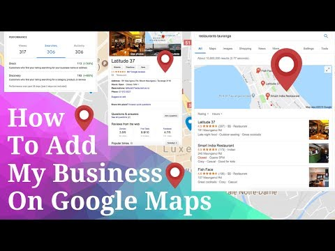 How To Add My Business Location, Shop, Photos And Reviews On Google Maps (2020)