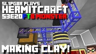 HermitCraft FTB Monster - How to make Clay!!! ( Minecraft Feed The Beast Let's Play ) S3E20