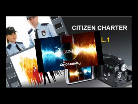Citizen Charter - Volume 1