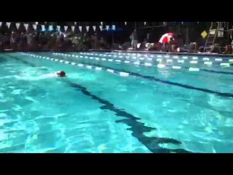 Bo swimming like Olympian from Equatorial Guinea