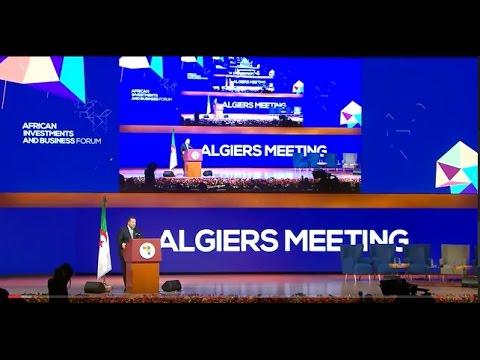 Plénière ENERGIE : « Le Rendez-vous d'Alger »
