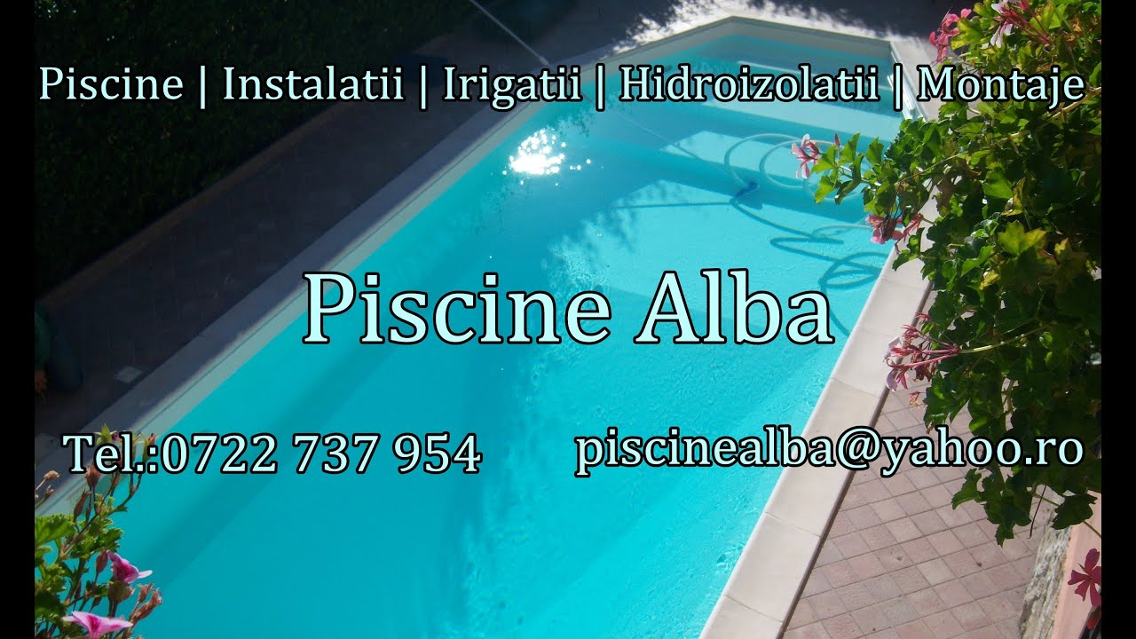 Piscine alba romania prezentare generala youtube for Constructii piscine romania
