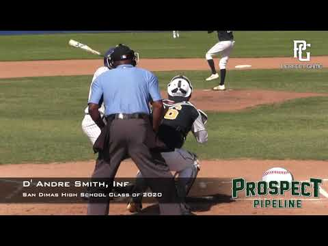 D'Andre Smith Prospect Video, Inf, San Dimas High School Class of 2020