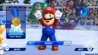 Mario & Sonic at the Sochi 2014 Olympic Winter Games - Snowboard Parallel Giant Slalom Gold Medal