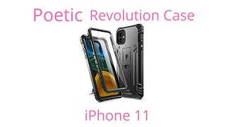 """Poetic Full-body Dual-layer Shockproof Rugged Protective Cover For Iphone 11 """"revolution"""""""