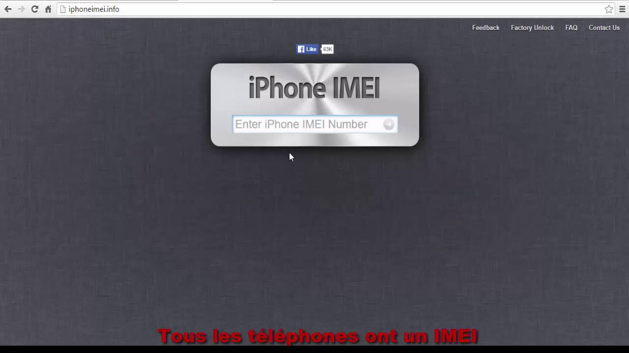 comment pirater iphone imei
