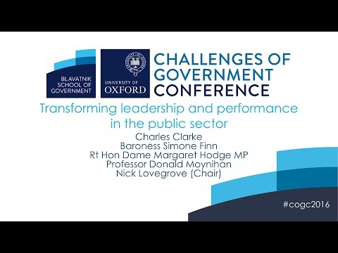 Transforming leadership and performance in the public sector