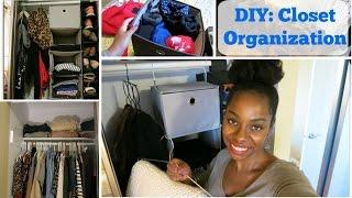 Diy Home Project: Closet Organization