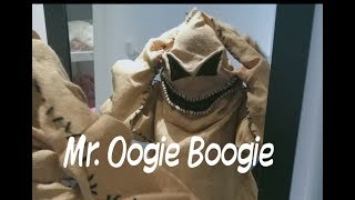 Mr. Oogie Boogie Costume  /  The Nightmare Before Christmas  /   Pesadilla antes de navidad