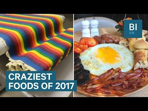 Wildest Food We Found In The UK In 2017