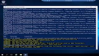 HPE Hands-on-labs:  Azure Stack Development Kit Deployment