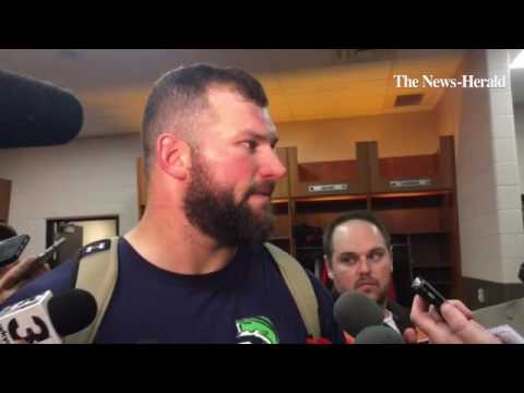 Browns offensive tackle Joe Thomas discusses the particulars of the 31-28 loss to the New York Jets.