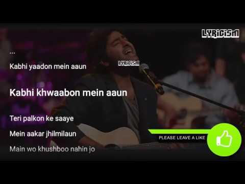 kabhi-yaadon-mein-aao-arijit-singh-full-song-with-lyrics-palak-muchhal-divya-khosla-kumar