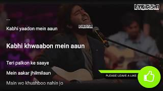 Kabhi Yaadon Mein Aao Arijit Singh Full Song With Lyrics Palak Muchhal Divya Khosla Kumar
