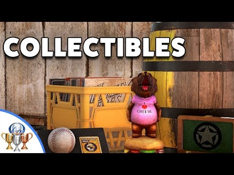 Far Cry 5 - How to Find Collectible Bobbleheads, Records, Baseball Cards, Lighters, Barrels & Comics