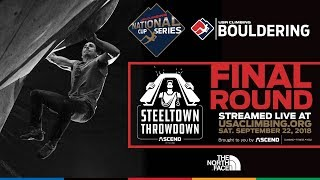 2018 Steel Town Throw down • USA Climbing National Cup Series