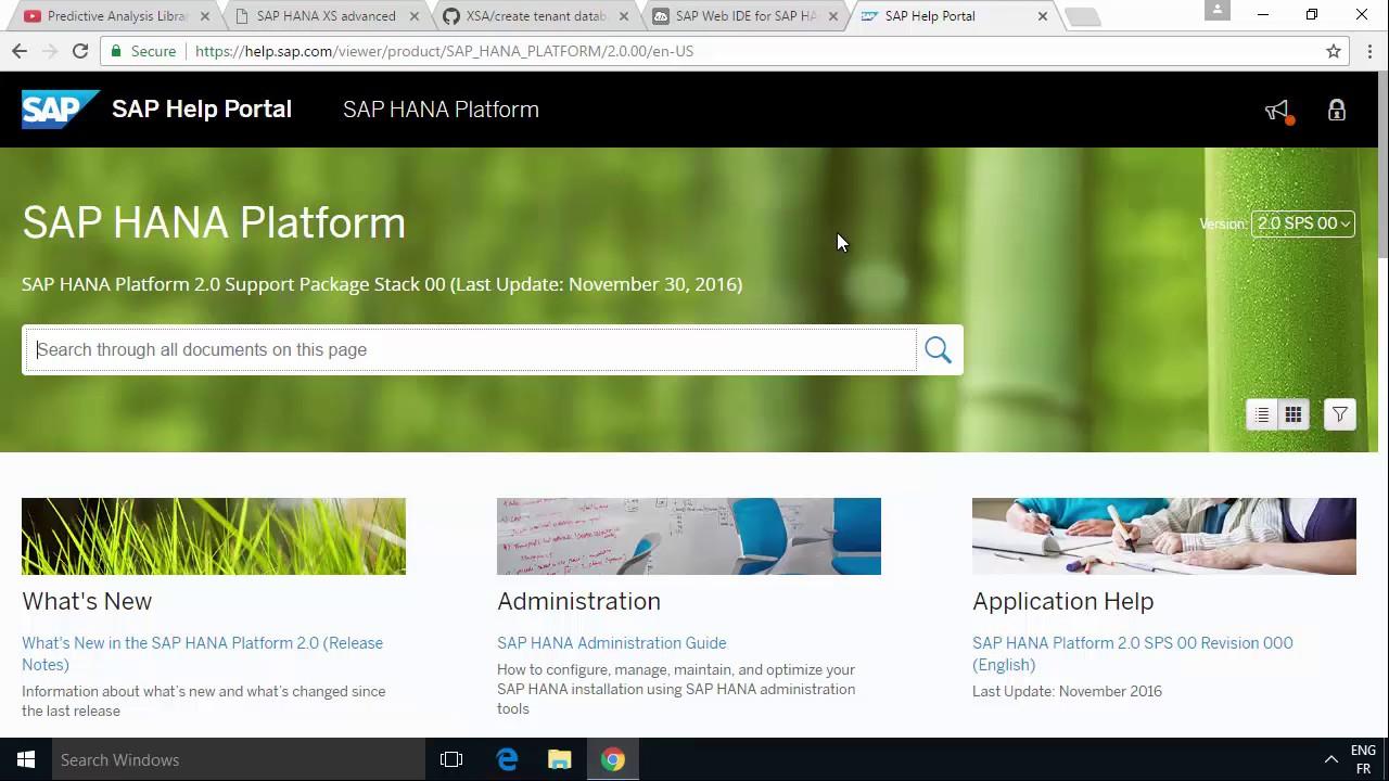 SAP HANA Academy - Web IDE for HANA: Predictive - Introduction [2 0 SPS 00]