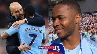 Raheem Sterling reveals how Pep Guardiola led Man City to the Premier League title