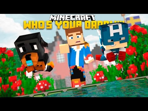 how to make the whos your daddy minecraft house