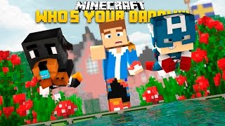 minecraft donut the dog adventures whos your daddy baby donut kills daddy donny