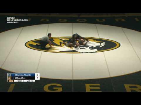 HIGHLIGHTS: Mizzou Wrestling Takes Down Kent State, 34-4