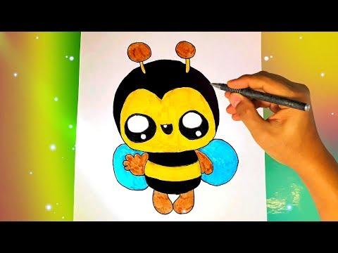 Как нарисовать ПЧЕЛУ? Лёгкие рисунки для срисовки