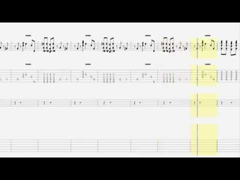 Cream - Sunshine of Your Love / Guitar And Solo Tab HD