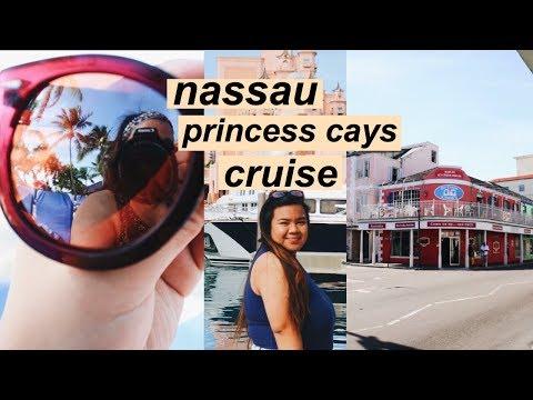 TRAVEL VLOG: BAHAMAS // NASSAU & PRINCESS CAYS // Carnival Sensation // VIANANICOLE