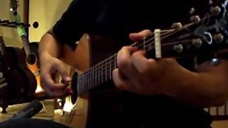 サザンの「慕情」をソロギターにアレンジしてみました。ちょっと涼しく...
