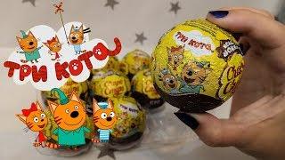 Три кота новинка от Chupa Chups Новая коллекция с героями мультфильма Коржик Карамелька и Компот