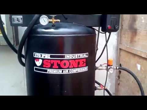 Compresor De Aire 10hp 175psi 130 Galones (500 Litros) Stone Peru thumbnail