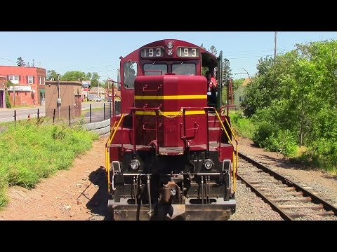 Railfanning Journal 07/21/16 Riding The North Shore Scenic Railroad