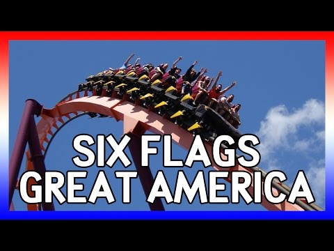 Six Flags Great America [4K] - USA 2016 Days 2&3