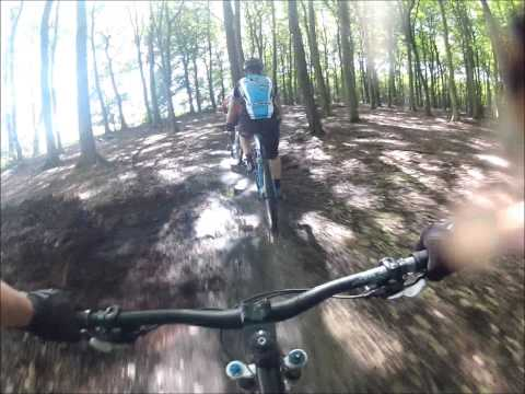 Sherwood Forest Mountainbike Trails Nottinghamshire UK