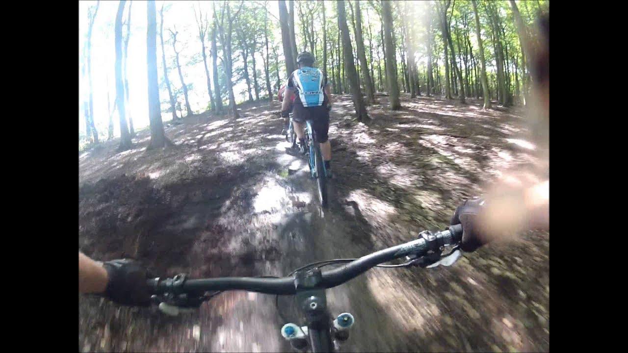 Sherwood Forest Mountainbike Trails Nottinghamshire Uk Youtube